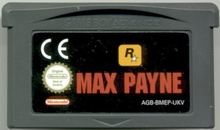 Max Payne Game Boy Advance Media