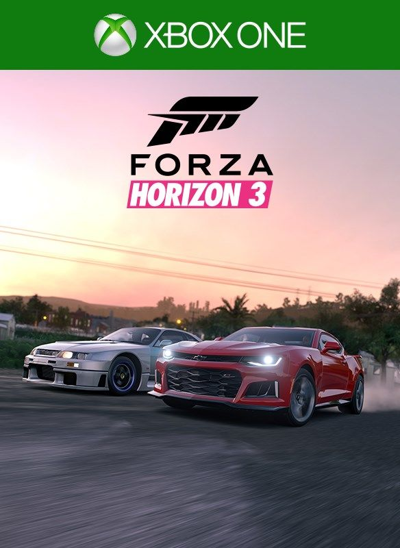 forza horizon 3 duracell car pack 2017 xbox one box cover art mobygames. Black Bedroom Furniture Sets. Home Design Ideas