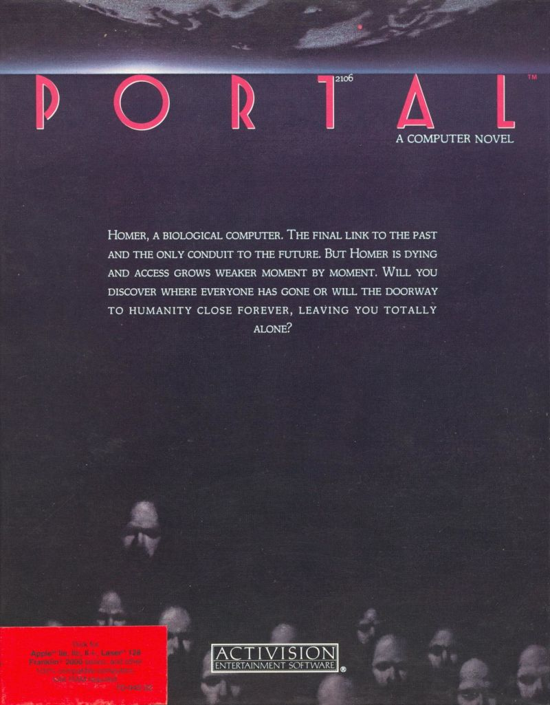 Portal Apple II Front Cover
