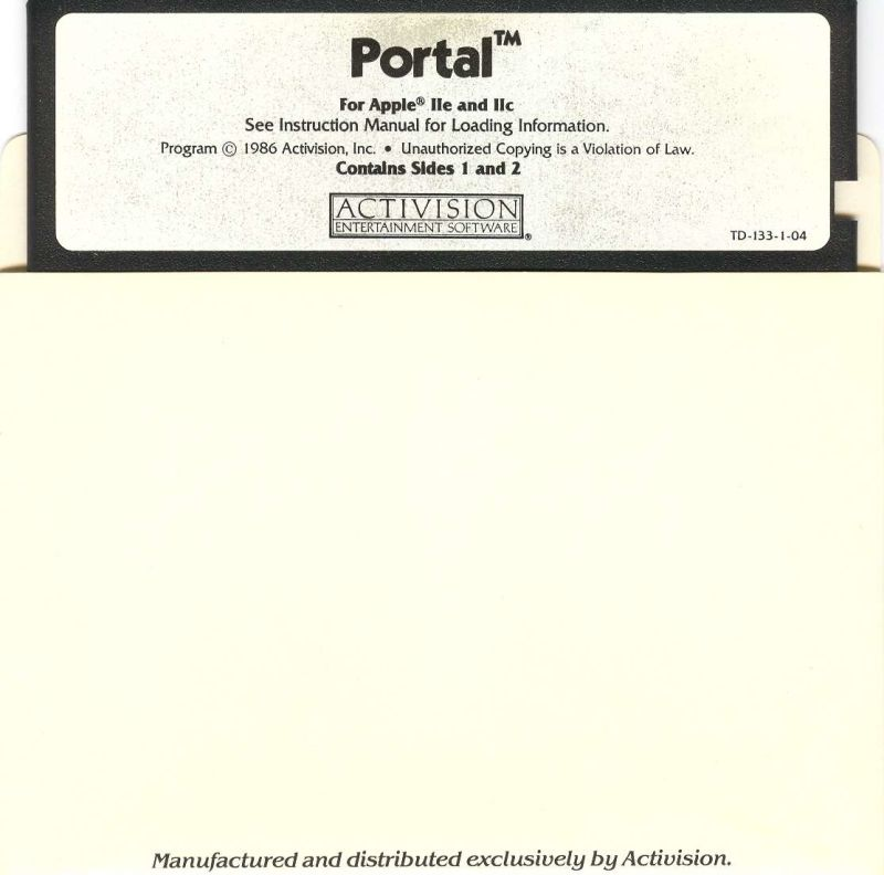 Portal Apple II Media 1/3