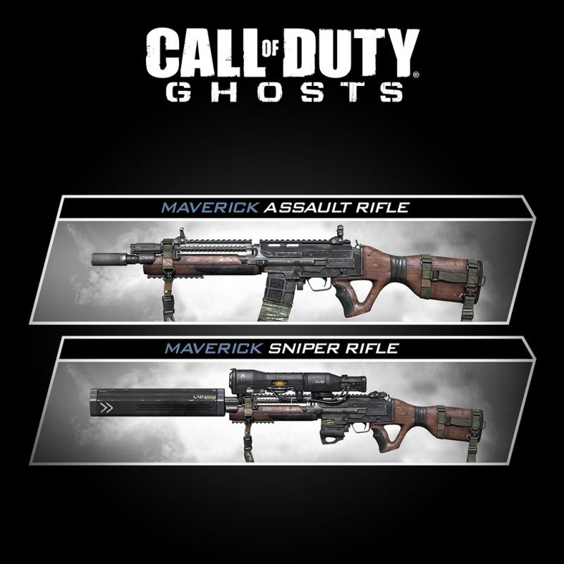 Call of Duty: Ghosts - Weapon: The Maverick PlayStation 3 Front Cover