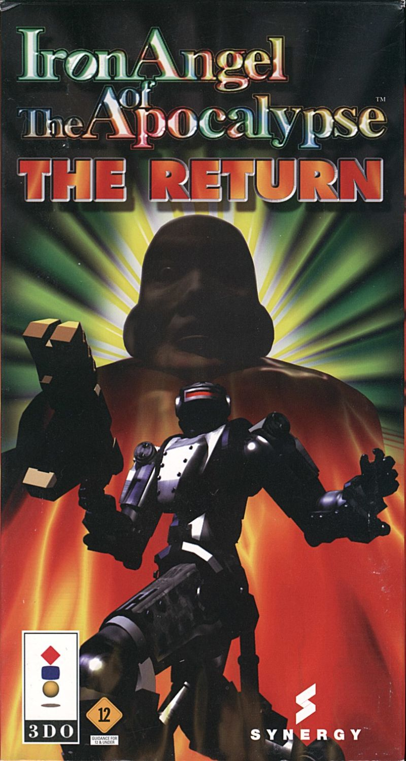 Iron Angel of the Apocalypse: The Return 3DO Front Cover
