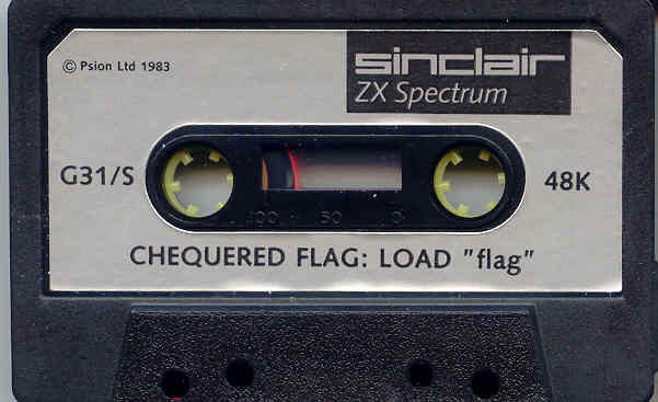 Chequered Flag ZX Spectrum Media