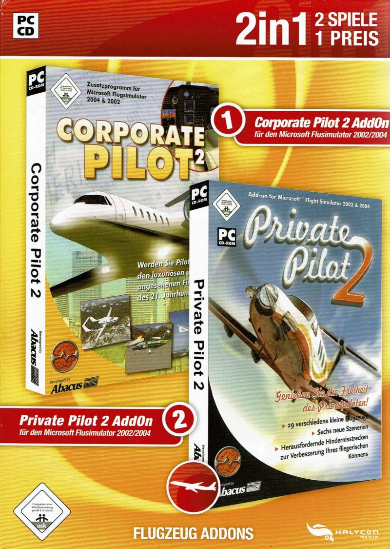 2in1: Corporate Pilot 2 & Private Pilot 2