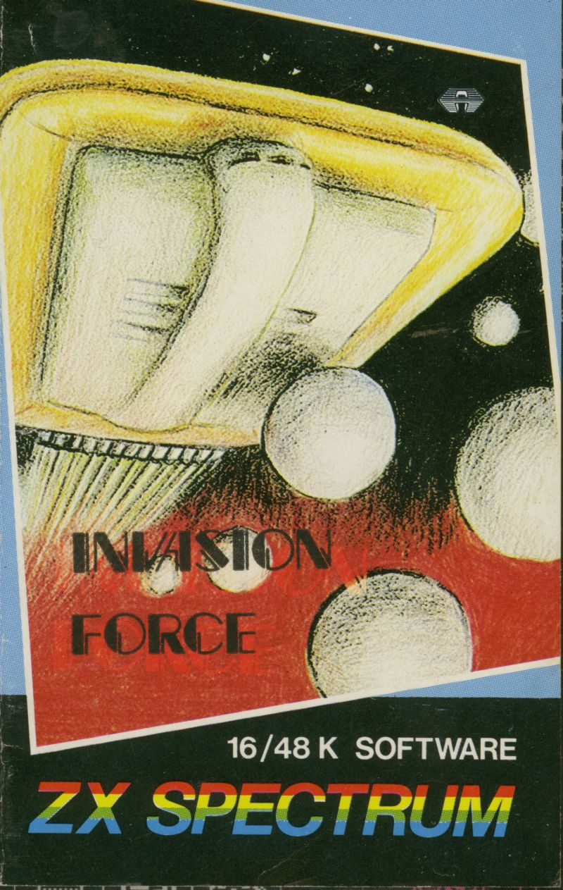 Invasion Force ZX Spectrum Front Cover