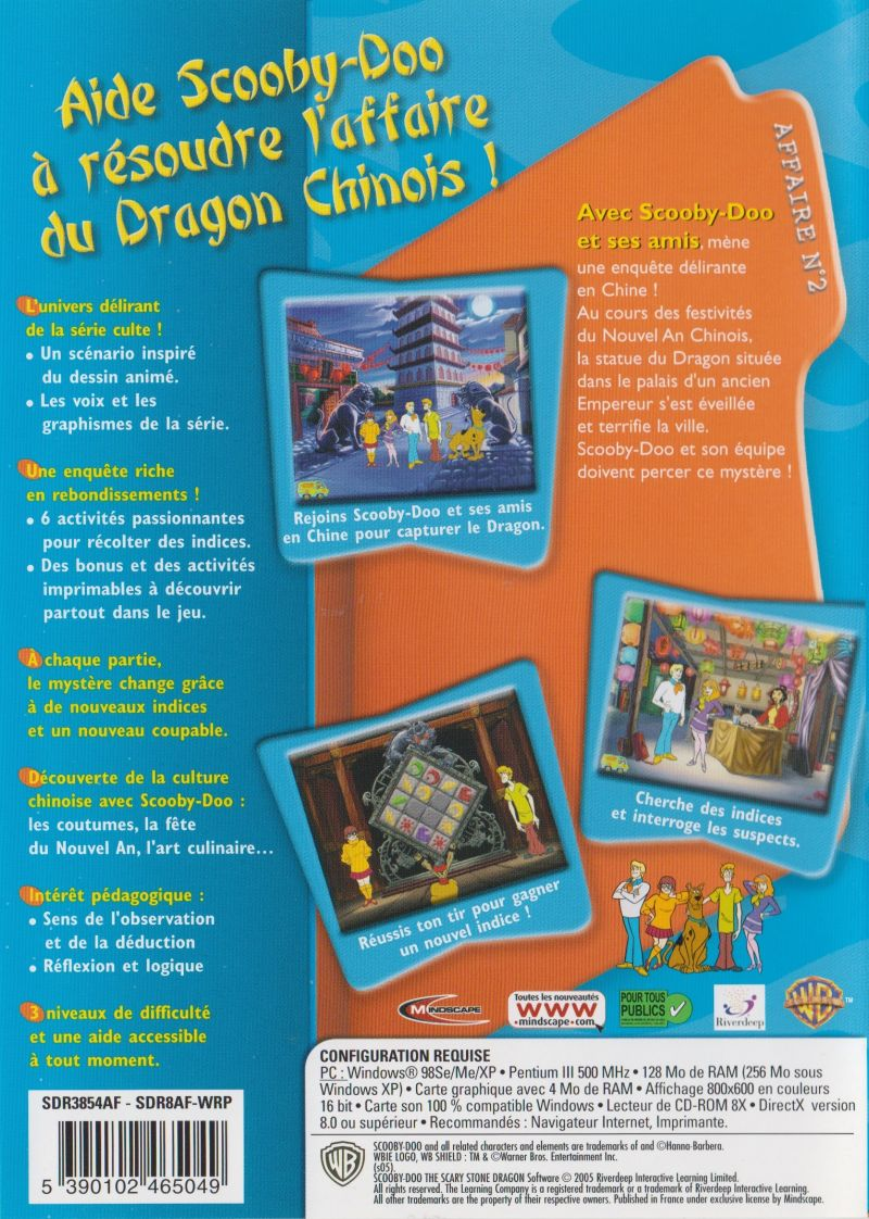 Scooby Doo Case File N 2 The Scary Stone Dragon 2003 Windows