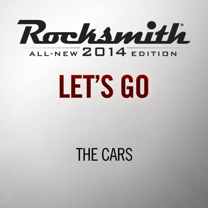 rocksmith all new 2014 edition the cars let s go for playstation 4 2015 mobygames. Black Bedroom Furniture Sets. Home Design Ideas