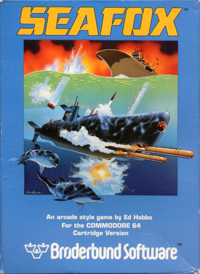 Seafox Commodore 64 Front Cover