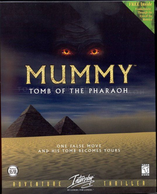 Mummy: Tomb of the Pharaoh Windows Front Cover