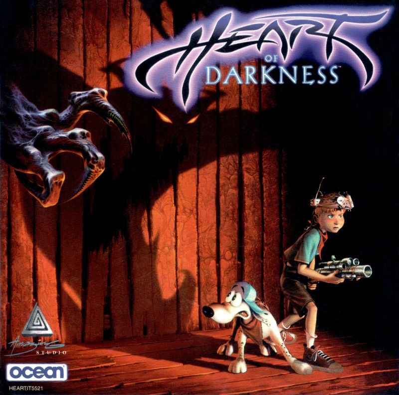 Heart of Darkness Windows Manual Jewel Case - Front