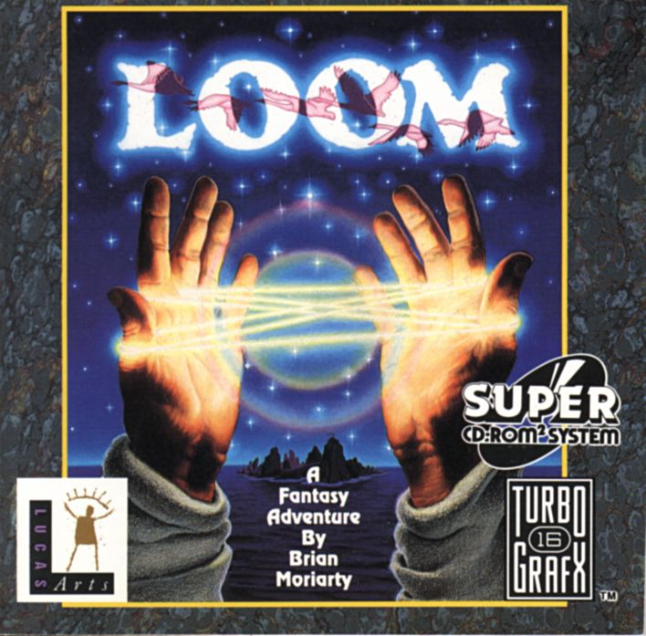 Loom TurboGrafx CD Front Cover