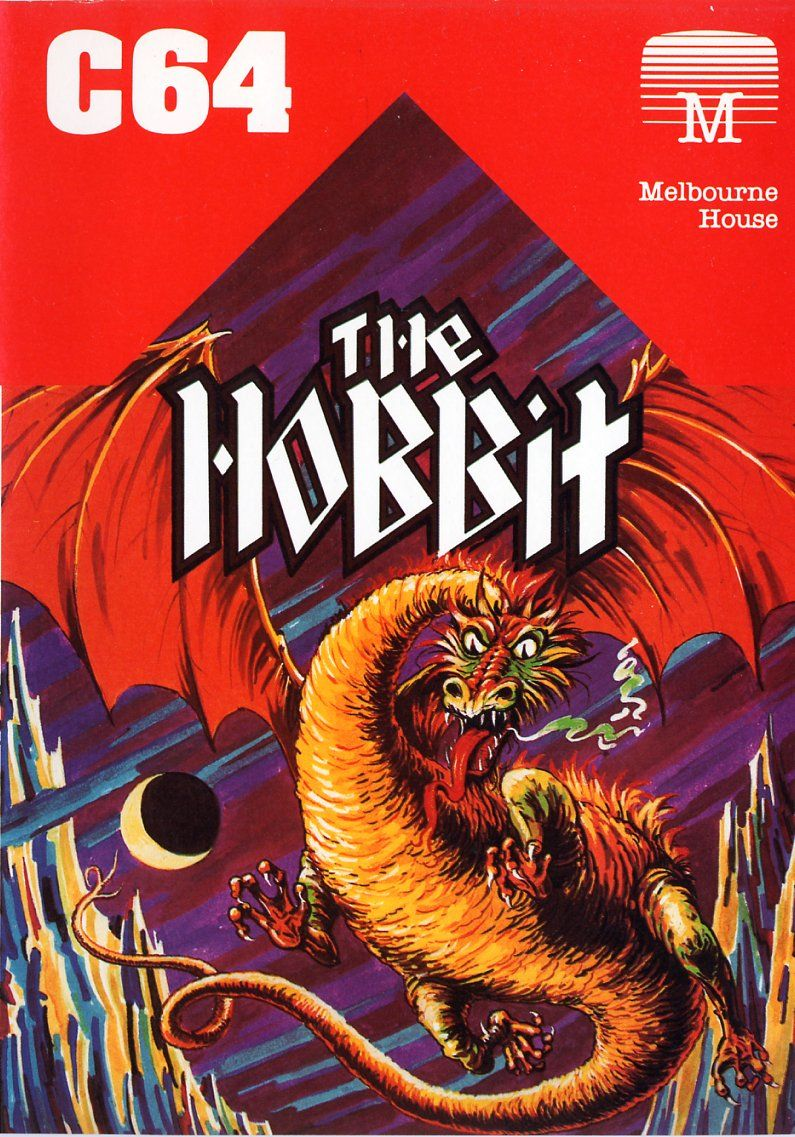 The Hobbit Commodore 64 Front Cover