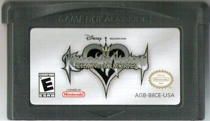 Kingdom Hearts: Chain of Memories Game Boy Advance Media
