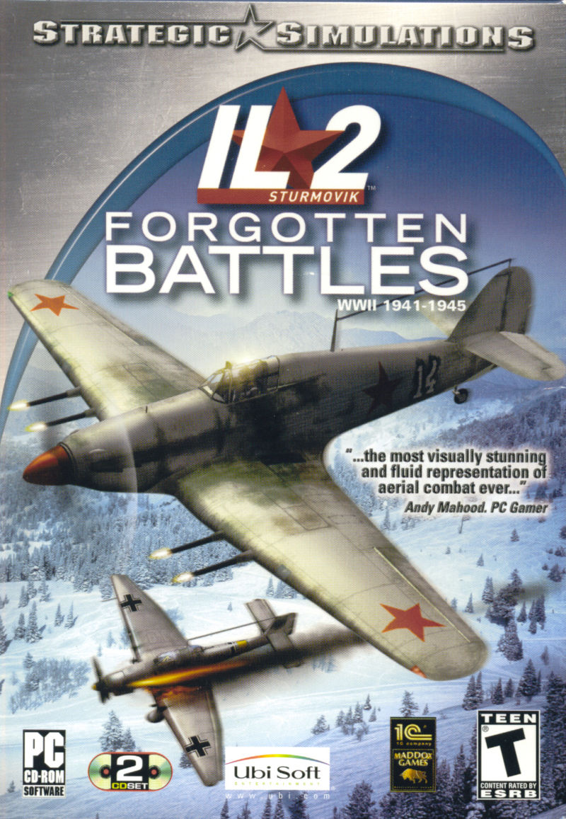 IL-2 Sturmovik: Forgotten Battles Windows Front Cover
