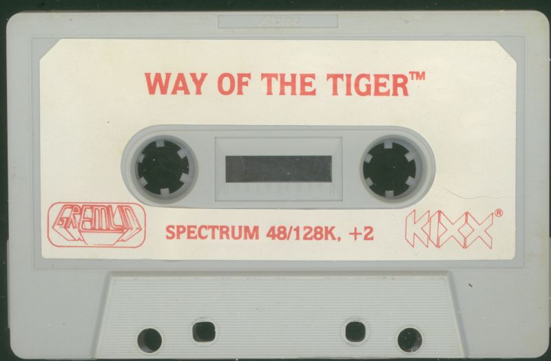 The Way of the Tiger ZX Spectrum Media