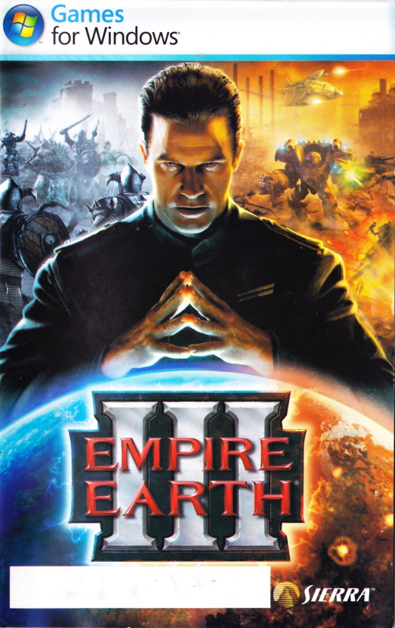 Empire Earth III Windows Manual Front