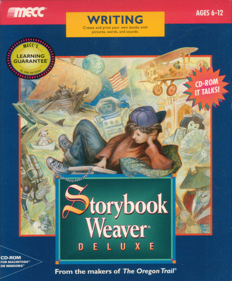 Storybook Weaver: Deluxe Macintosh Front Cover