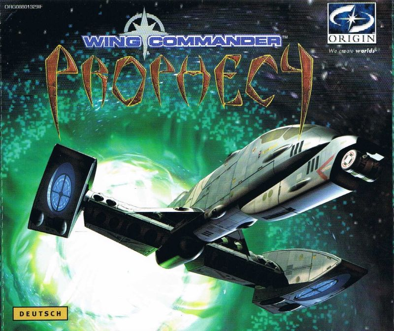 Wing Commander: Prophecy Windows Other Jewel Case - Front