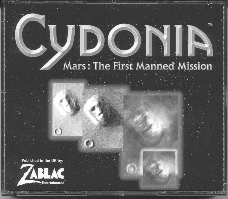 Cydonia: Mars - The First Manned Mission Windows Other Jewel Case - Front