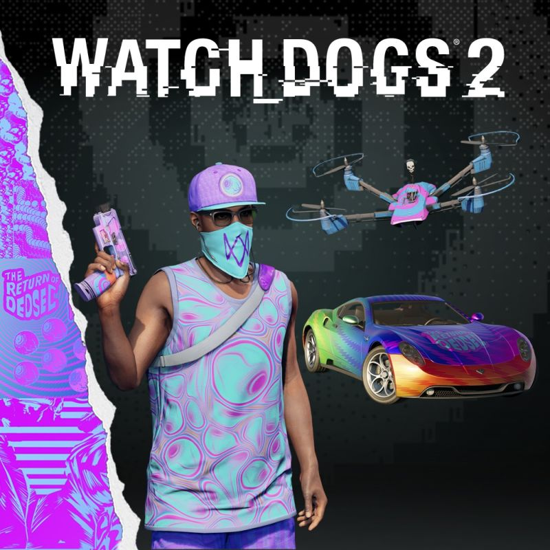 Watch Dogs  Psychedelic Pack