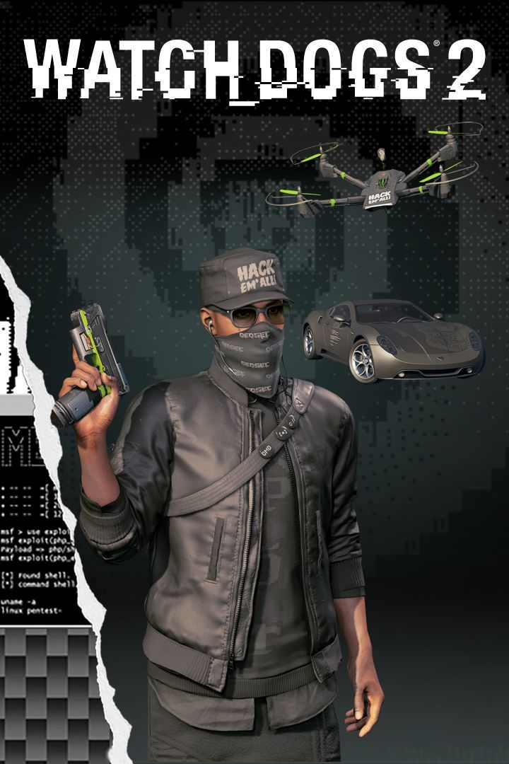 Xbox One Watch Dogs  Supreme Pack