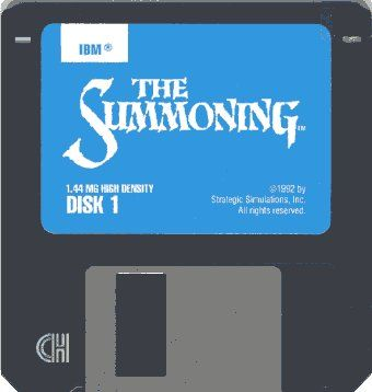 The Summoning DOS Media Disk 1