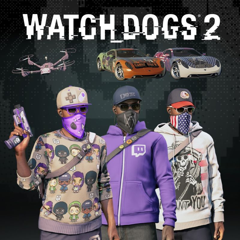 Watch_Dogs 2: Fully Decked Out Bundle (2017) PlayStation 4 ...