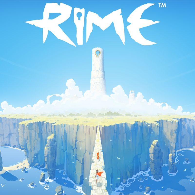 RiME PlayStation 4 Front Cover