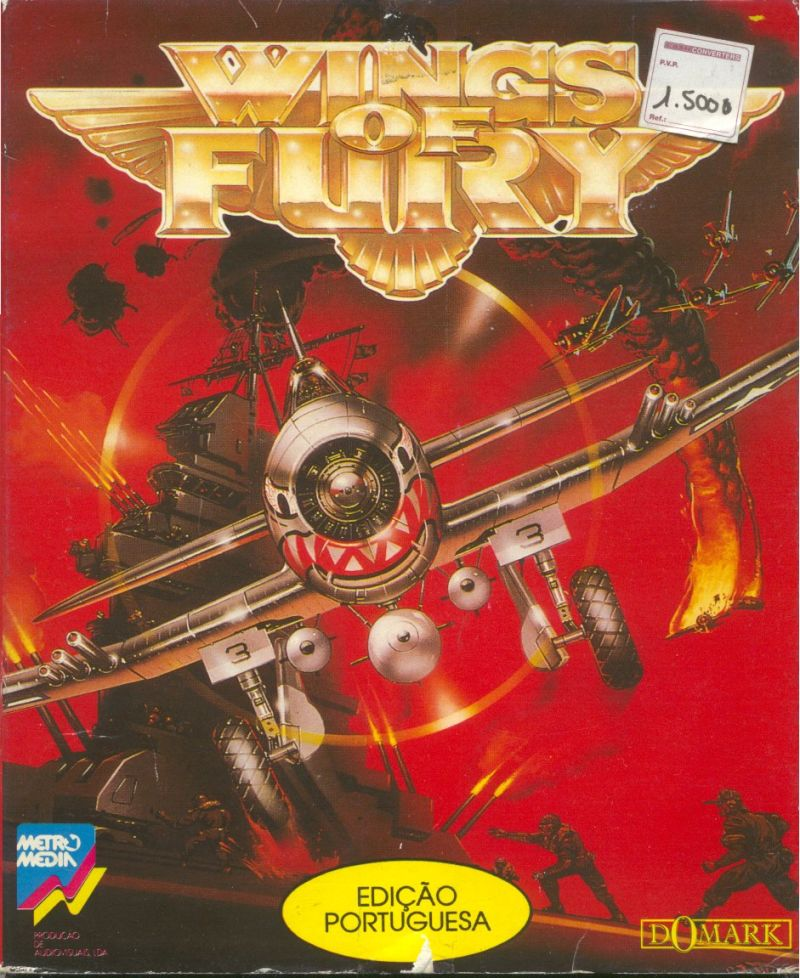 Wings of fury 1990 amiga box cover art mobygames for Wings of fury