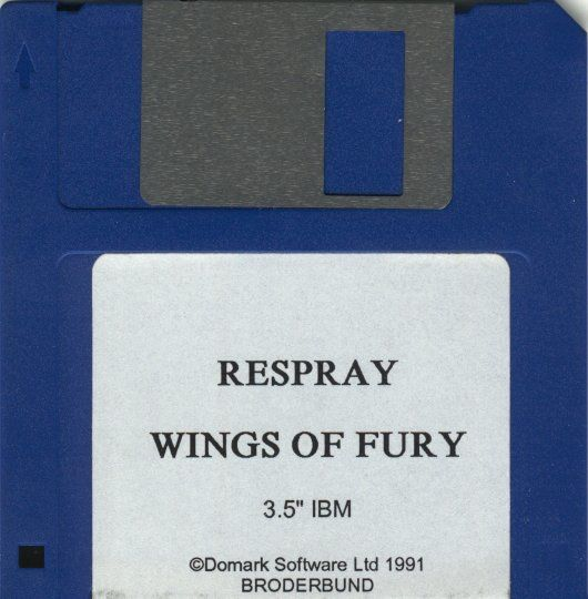 Wings of Fury DOS Media