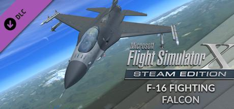 Microsoft Flight Simulator X: Steam Edition - F-16 Fighting Falcon