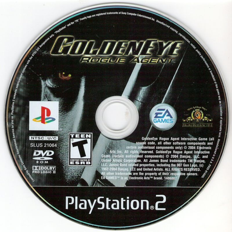 GoldenEye: Rogue Agent PlayStation 2 Media