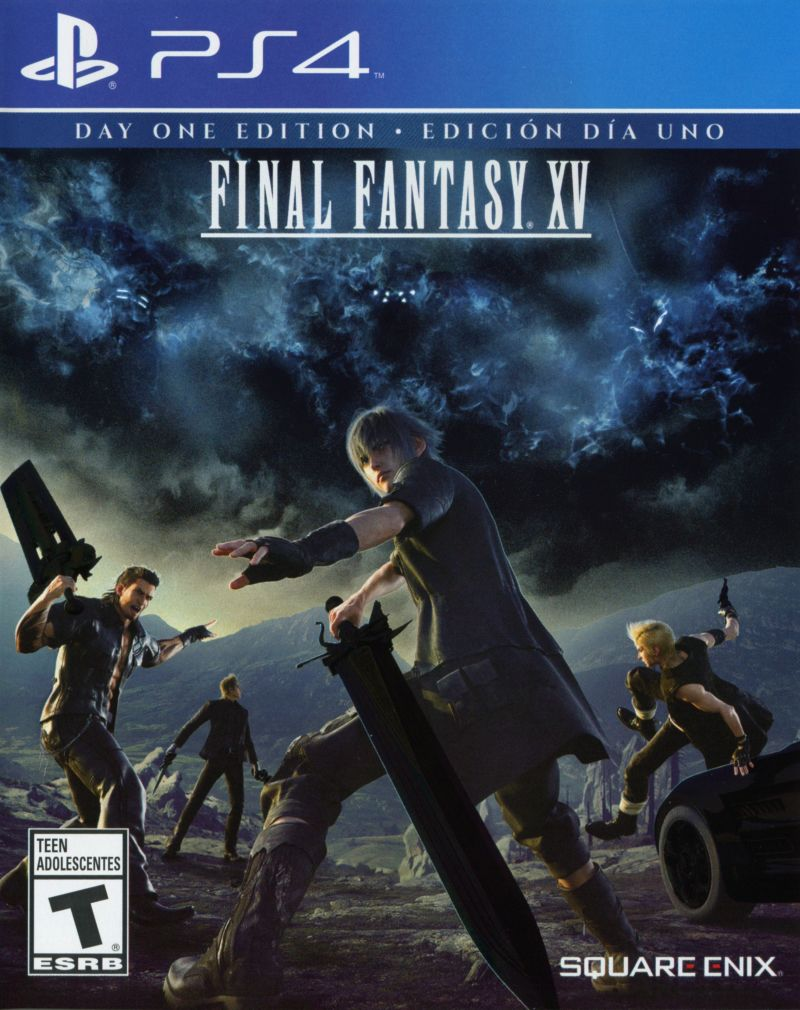 Book Cover Fantasy Xv : Final fantasy xv playstation box cover art