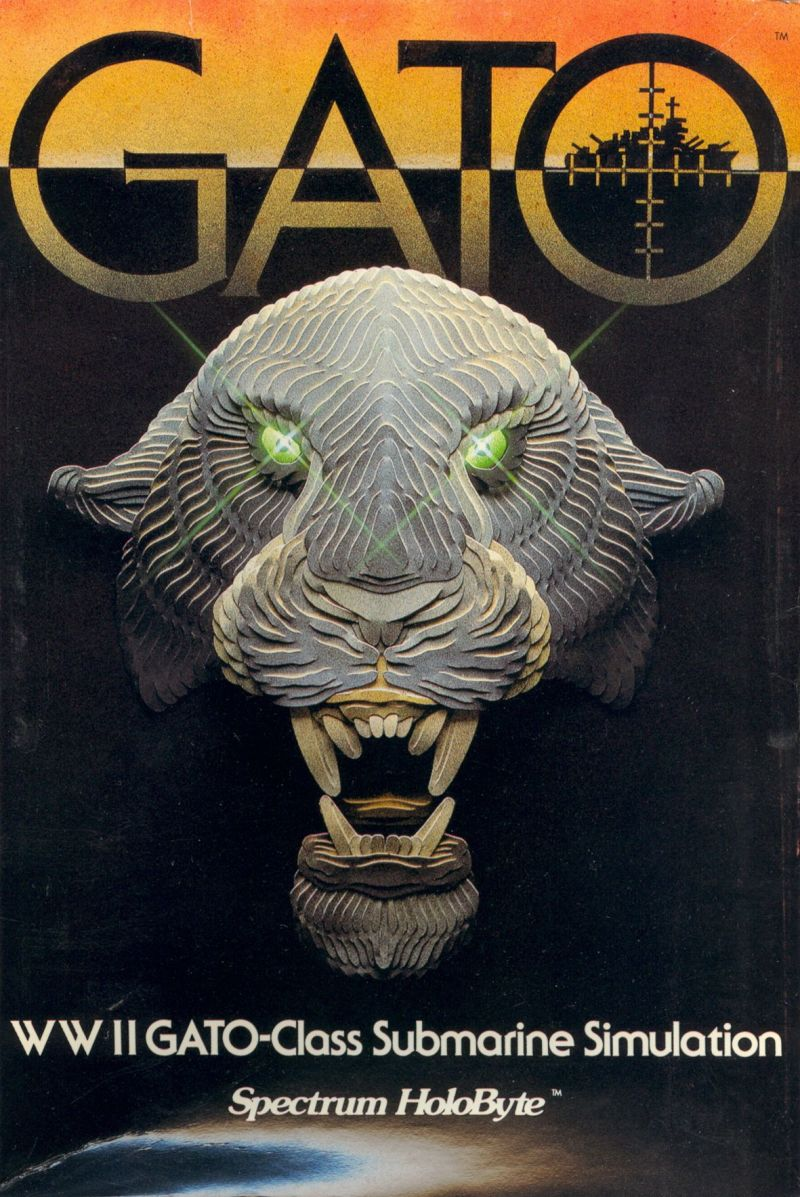GATO Apple II Front Cover