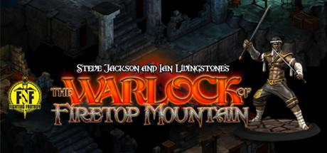 The Warlock of Firetop Mountain Linux Front Cover