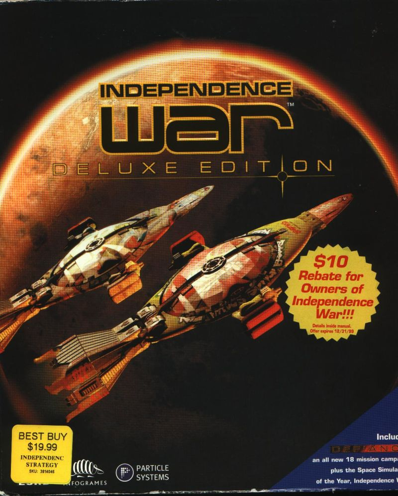 Independence War: Deluxe Edition Windows Front Cover