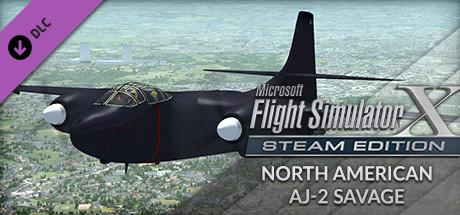 Microsoft Flight Simulator X: Steam Edition - North American AJ-2 Savage