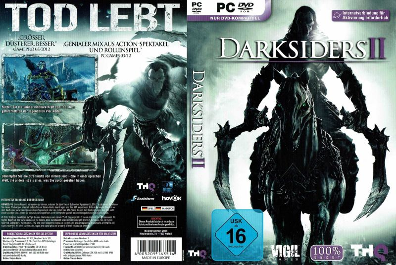 Darksiders II Windows Full Cover