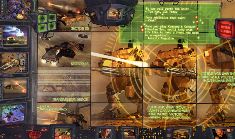 Command & Conquer: Tiberian Sun Windows Inside Cover
