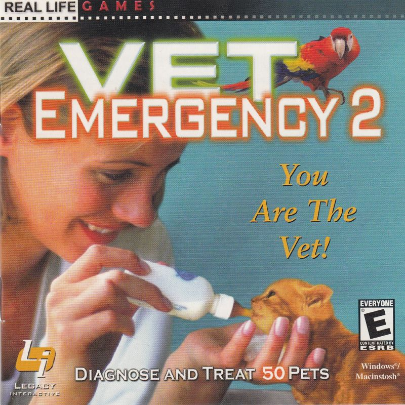 Vet Emergency 2 Macintosh Front Cover