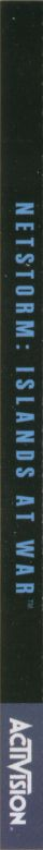 NetStorm: Islands at War Windows Other Jewel Case - Back - Left Spine