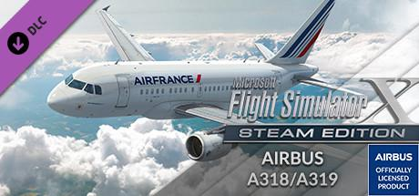Microsoft Flight Simulator X: Steam Edition - Airbus A318/A319 Windows Front Cover