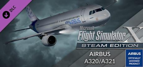 Microsoft Flight Simulator X: Steam Edition - Airbus A320/A321 Windows Front Cover