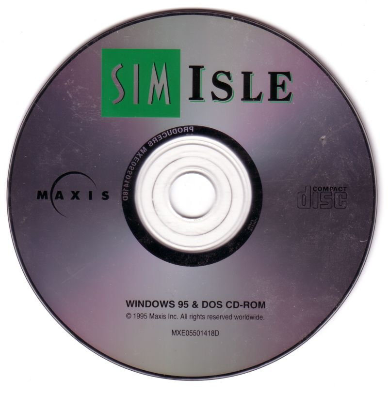 SimIsle: Missions in the Rainforest DOS Media