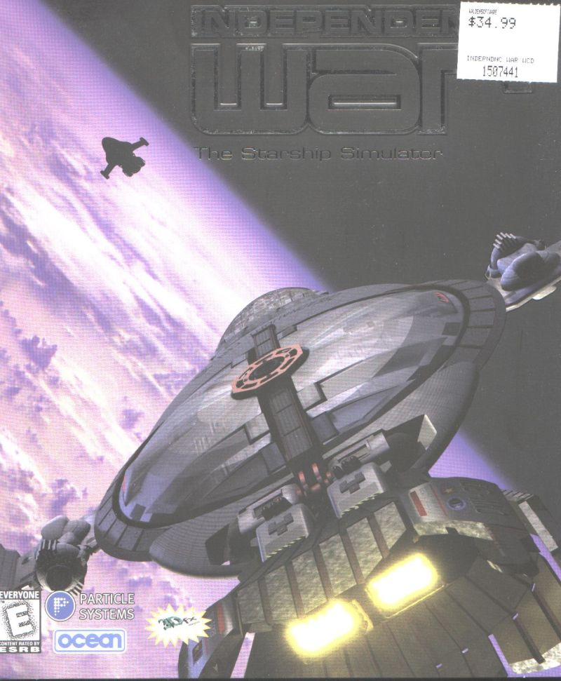 Independence War: The Starship Simulator Windows Front Cover