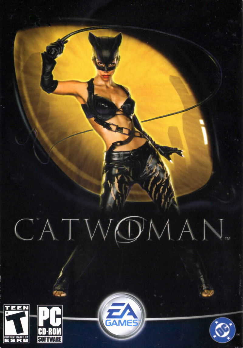Catwoman Windows Front Cover