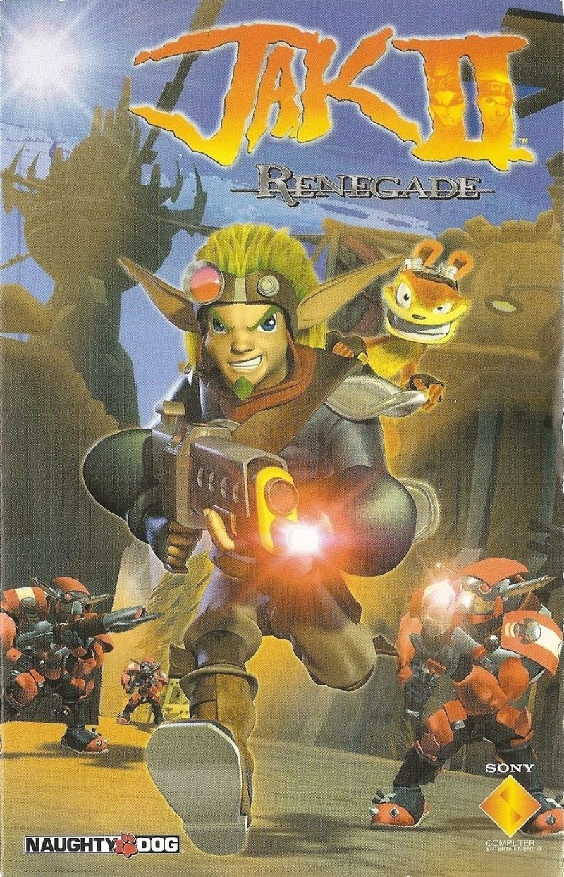 Jak Ii 2003 Playstation 2 Box Cover Art Mobygames