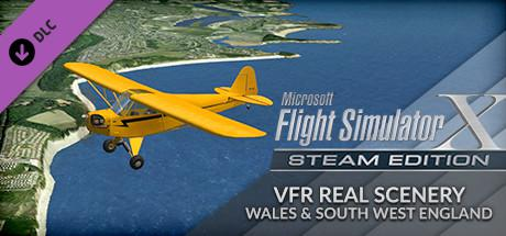 Microsoft Flight Simulator X: Steam Edition - VFR Real Scenery Wales & South West England