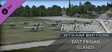 Microsoft Flight Simulator X: Steam Edition - East Frisian Islands Windows Front Cover