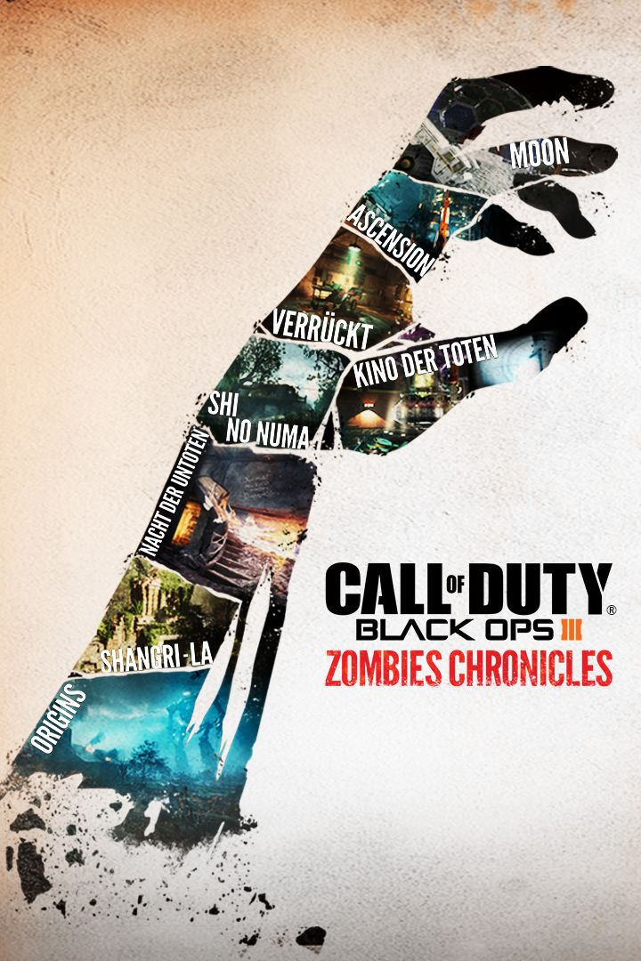 Call Of Duty Black Ops Iii Zombies Chronicles 2017 Xbox One
